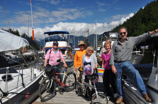 Bicycles and boats