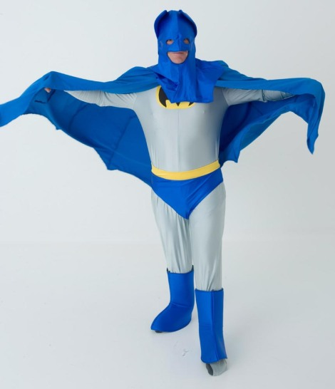 Batman? You've let yourself go...