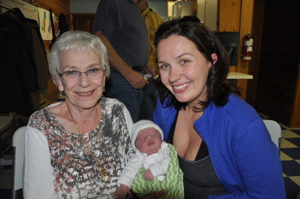 Betty, Sara and Olivia