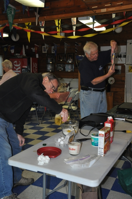 Dave and Neal Prepare Breakfast
