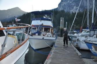 Kama Lua Prepares to Depart Squamish