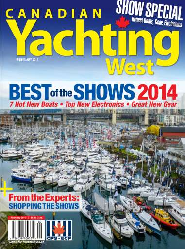 Canadian Yachting West January 2014 Cover