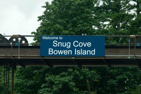 Welcome to Snug Cove, Bowen Island