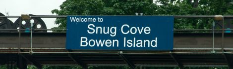 Welcome to Snug Cove, Bowen Island