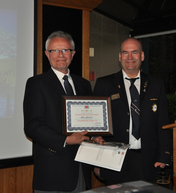 New Life Member Bill Grout