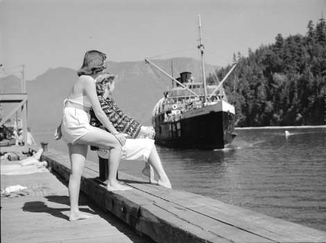 Steamship Days ~ Bowen Island
