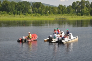 All the Boat Operator Volunteers in Action