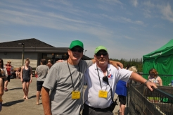Darcy with Dave Nosella, Event Organizer
