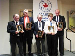 From Left to Right. Mike Smith, Bob Brandenstein, John Hinksman, Gavin England and Joseph Gatfield.