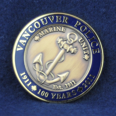 Vancouver Police Department Marine Unit ~ 100 Years