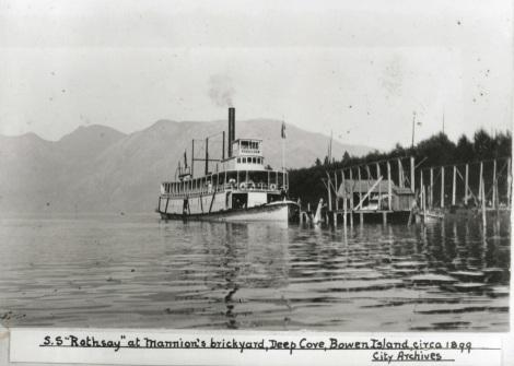 Historic Snug Cove ~ 1899